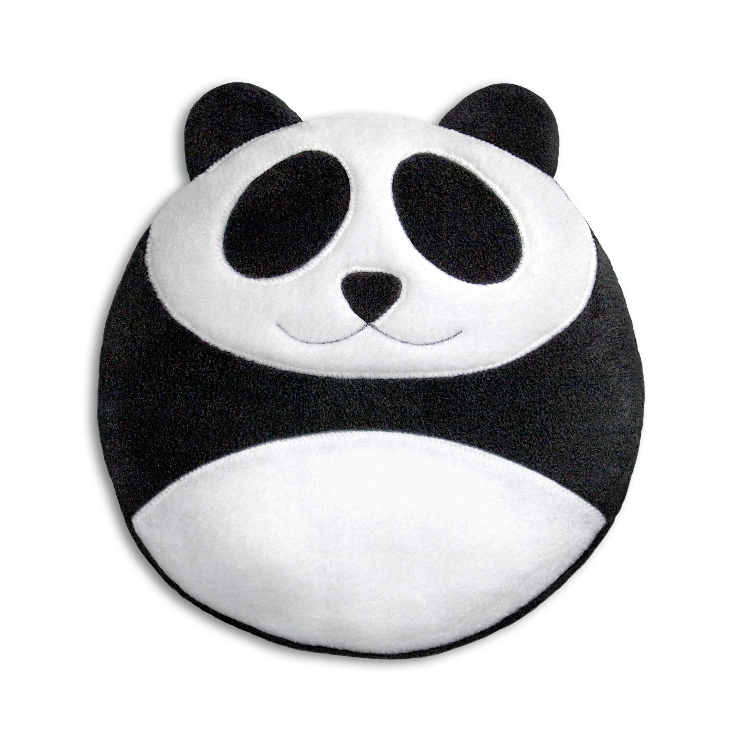 Déco - Pour les enfants - Bouillotte micro-ondes Bao le panda / Blé biologique - Pa Design - Panda - Blé biologique, Laine polaire