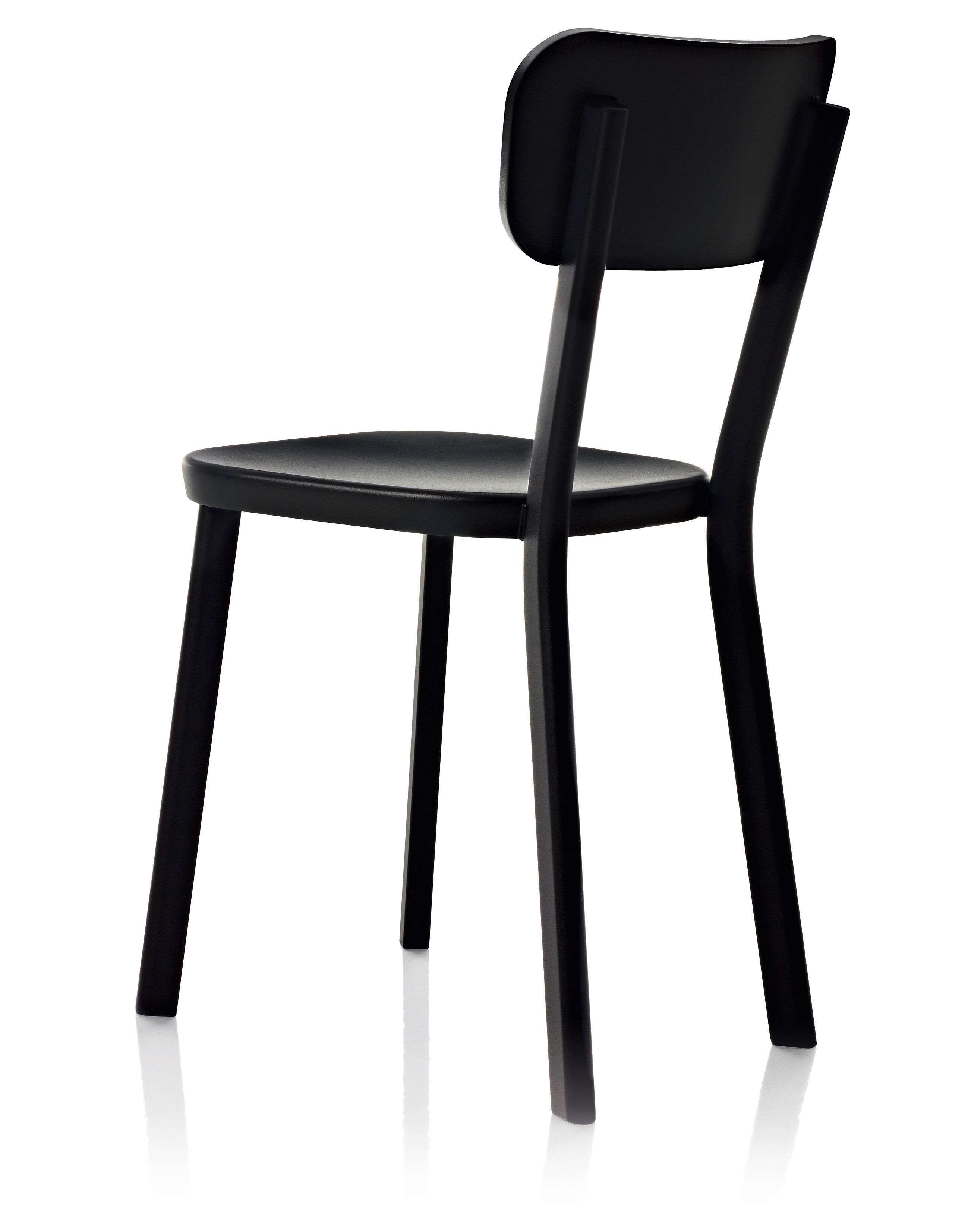 Furniture - Chairs - Déjà-vu Chair - Varnished metal by Magis - Black - Varnished aluminium