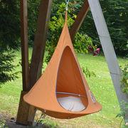 Fauteuil suspendu Bebo Tente Ø 120 cm Pour enfant Cacoon orange en tissu