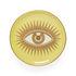Le wink Glass coaster - / Set of 4 – Porcelain & gold by Jonathan Adler