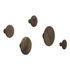 The Dots Wood Hook - / XSmall - Ø 6.5 cm by Muuto