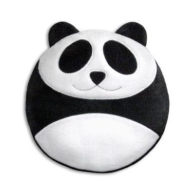 Decoration - Children's Home Accessories - Bao le panda Hot-water bottle - / Organic wheat by Pa Design - Panda - Laine polaire, Organic wheat