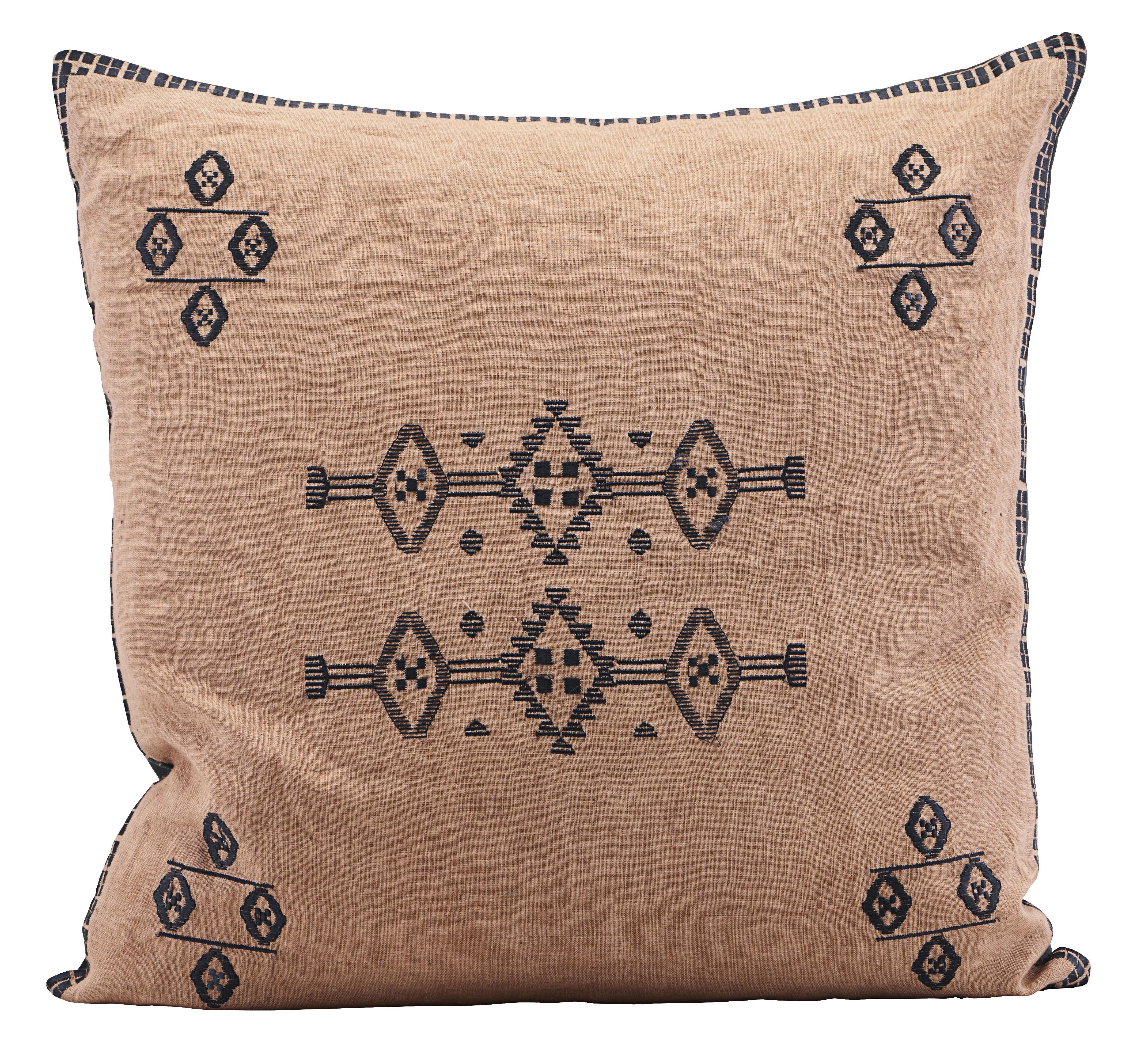inka kissen leinen 50 x 50 cm hautfarben by house doctor made in design. Black Bedroom Furniture Sets. Home Design Ideas