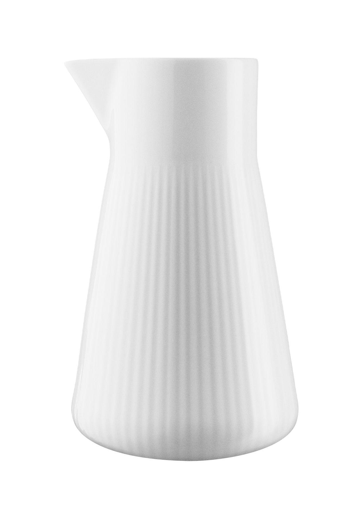 Tableware - Tea & Coffee Accessories - Legio Nova Milk pot - /  15 cl by Eva Trio - White - High quality porcelain