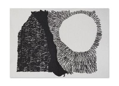 Déco - Textile - Plaid Dash / 200 x 135 cm - Laine - Tom Dixon - Noir & blanc - Laine