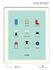 Le Duo - Design Poster - 40 x 50 cm by Image Republic