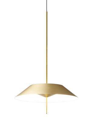 Suspension Mayfair LED / Ø 30 cm - Vibia or/métal en métal