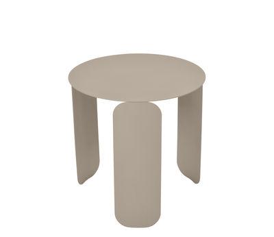 Mobilier - Tables basses - Table basse Bebop / Ø 45 x H 45 cm - Fermob - Muscade - Acier, Aluminium