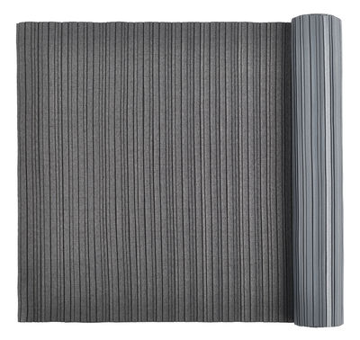Tableware - Napkins & Tablecloths - Iittala X Issey Miyake Table centrepiece - L 200 cm by Iittala - Dark grey - Polyester