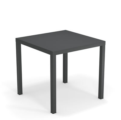 Table Nova Métal 80 x 80 cm Emu fer ancien en métal