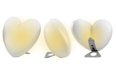 Love Ambient lamp - Table version by Slide - White - Polythene