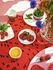 Assiette à mignardises Mansikkavuoret / Ø 13,5 cm - Marimekko