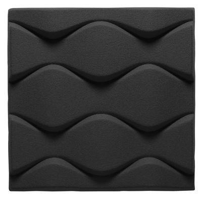 Mobilier - Paravents, séparations - Panneau acoustique mural Soundwave Flo - Offecct - Gris anthracite - Fibre de polyester
