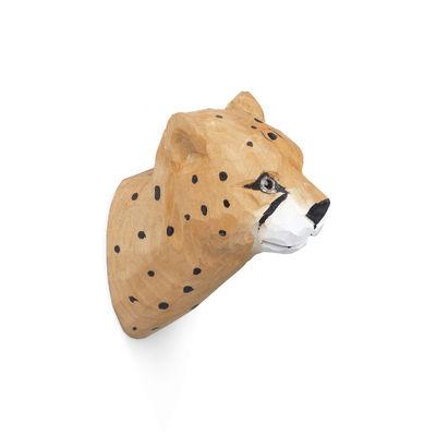 Mobilier - Portemanteaux, patères & portants - Patère Animal / Guépard - Sculpté main - Ferm Living - Guépard - Bois de peuplier, Verre