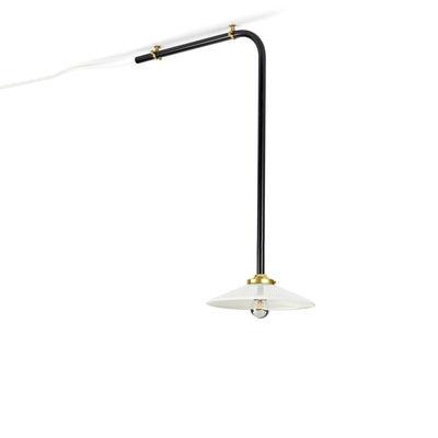 Lighting - Pendant Lighting - Celing Lamp n°3 Pendant - / H 60 x L 40 cm by valerie objects - Black - Glass, Steel