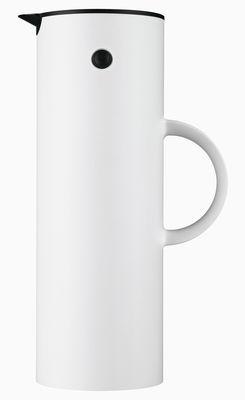 Arts de la table - Thé et café - Pichet isotherme Classic EM77 / 1 L - Stelton - Blanc - 1 Litre - ABS