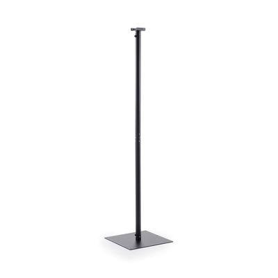 Image of Piede - / Per radiatore Hotty - H 210 cm di Unopiu - Nero - Metallo