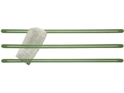Image of Portaoggetti Strap - Murale di droog - Verde - Materiale plastico