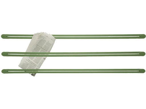 Interni - Insoliti e divertenti - Portaoggetti Strap - Murale di droog - Verde - Gomma