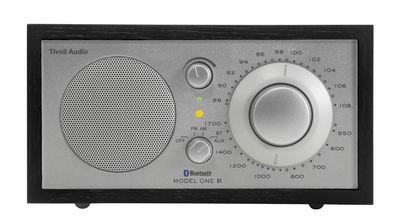 Radio Model One BT / Enceinte Bluetooth - Tivoli Audio noir,argent en bois