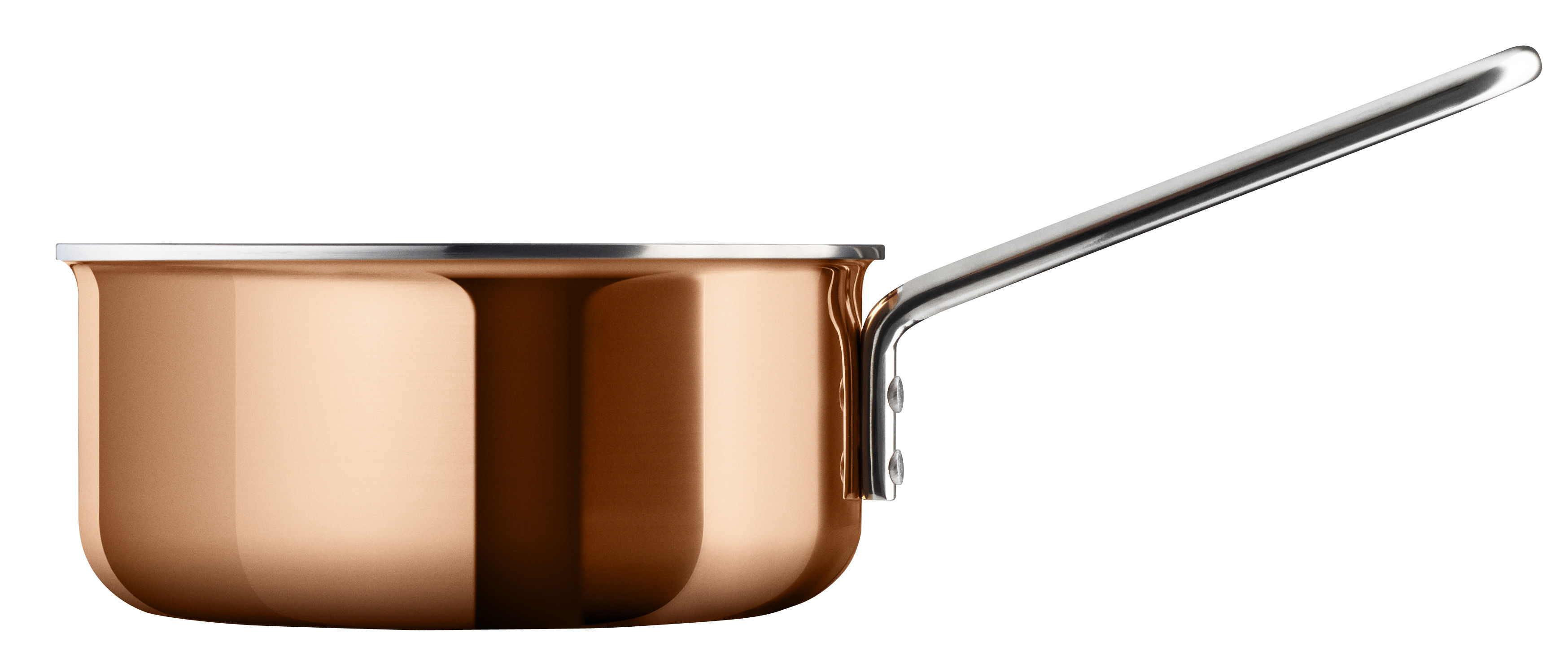Kitchenware - Pots & Pans - Copper Saucepan - Ø 16 cm - 1,5 L by Eva Trio - Copper - Aluminium, Copper, Steel
