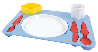 Déco - Pour les enfants - Set vaisselle enfant Espace - Doiy - Espace / Multicolore - Mélamine