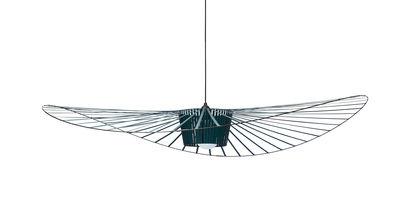 Suspension Vertigo Small / Ø 140 cm - Petite Friture vert-bleu en matière plastique