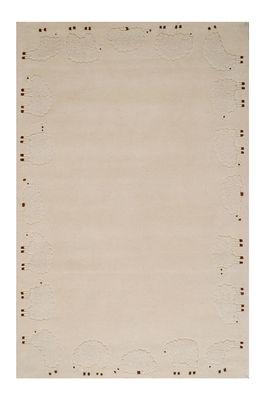 Dekoration - Für Kinder - Cabriole Teppich / 110 x 170 cm - Toulemonde Bochart - Naturfarben - Baumwolle