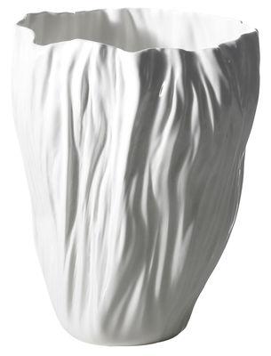 Vase adela de iv blanc driade kosmo made in design for Arredamento made in china