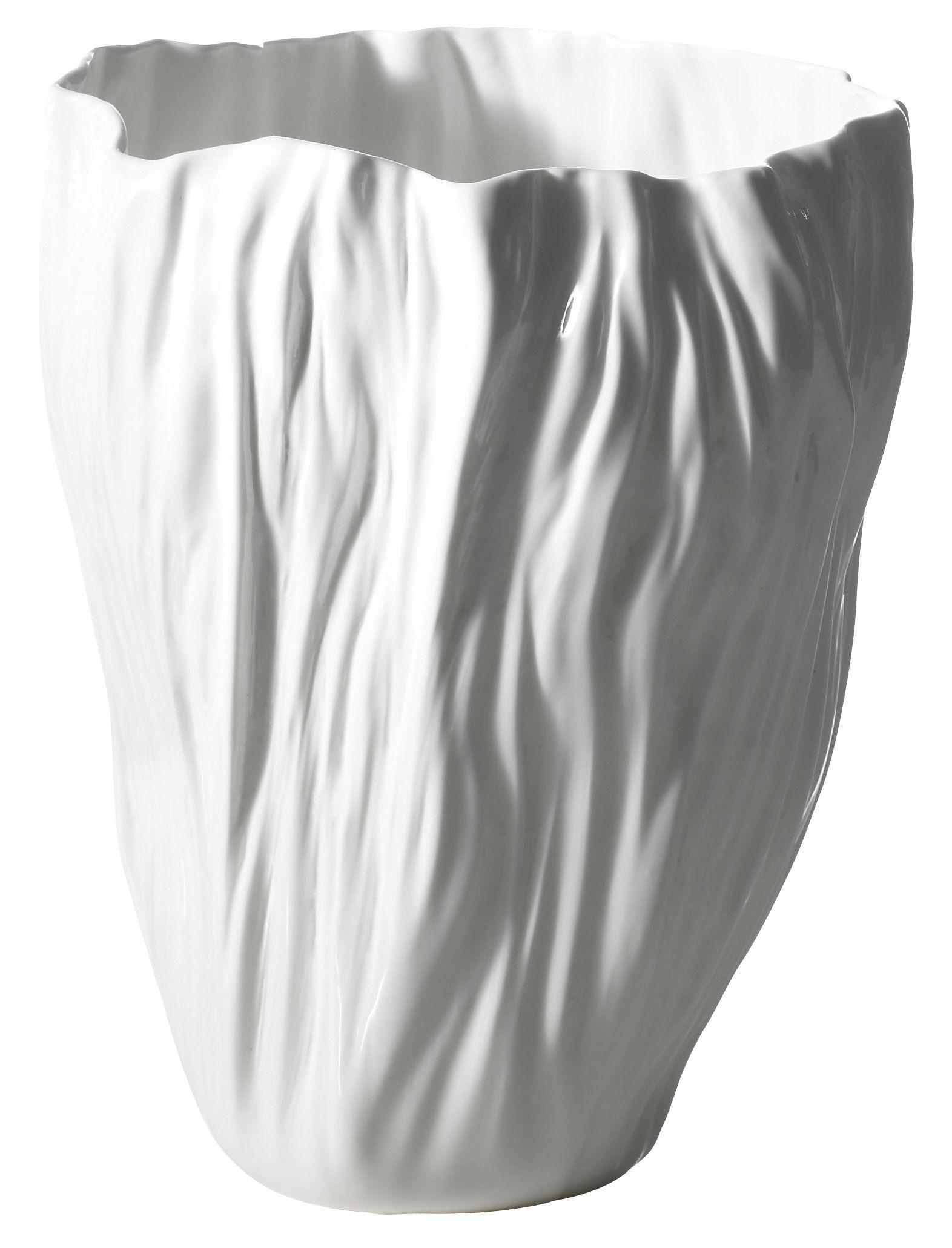 Dekoration - Vasen - Adelaïde IV Vase - Driade Kosmo - Weiß - chinesisches Weich-Porzellan