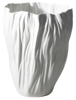 Decoration - Vases - Adelaïde IV Vase by Driade Kosmo - White - Bone china