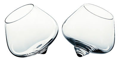 Arts de la table - Verres  - Verre à liqueur Liqueur Glass / Lot de 2 - Normann Copenhagen - Transparent - Verre