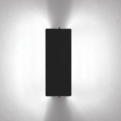 Applique à volet pivotant double LED /Charlotte Perriand, 1962 - Nemo noir en métal