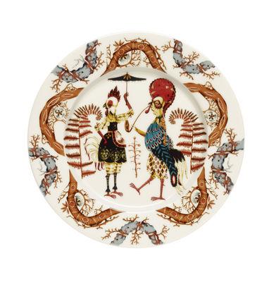 Assiette Tanssi / Ø 22 cm - Iittala multicolore en céramique