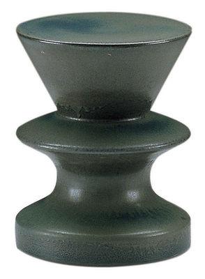 Möbel - Couchtische - Zeus Beistelltisch - Zanotta - Braun - blau - emaillierter Sandstein