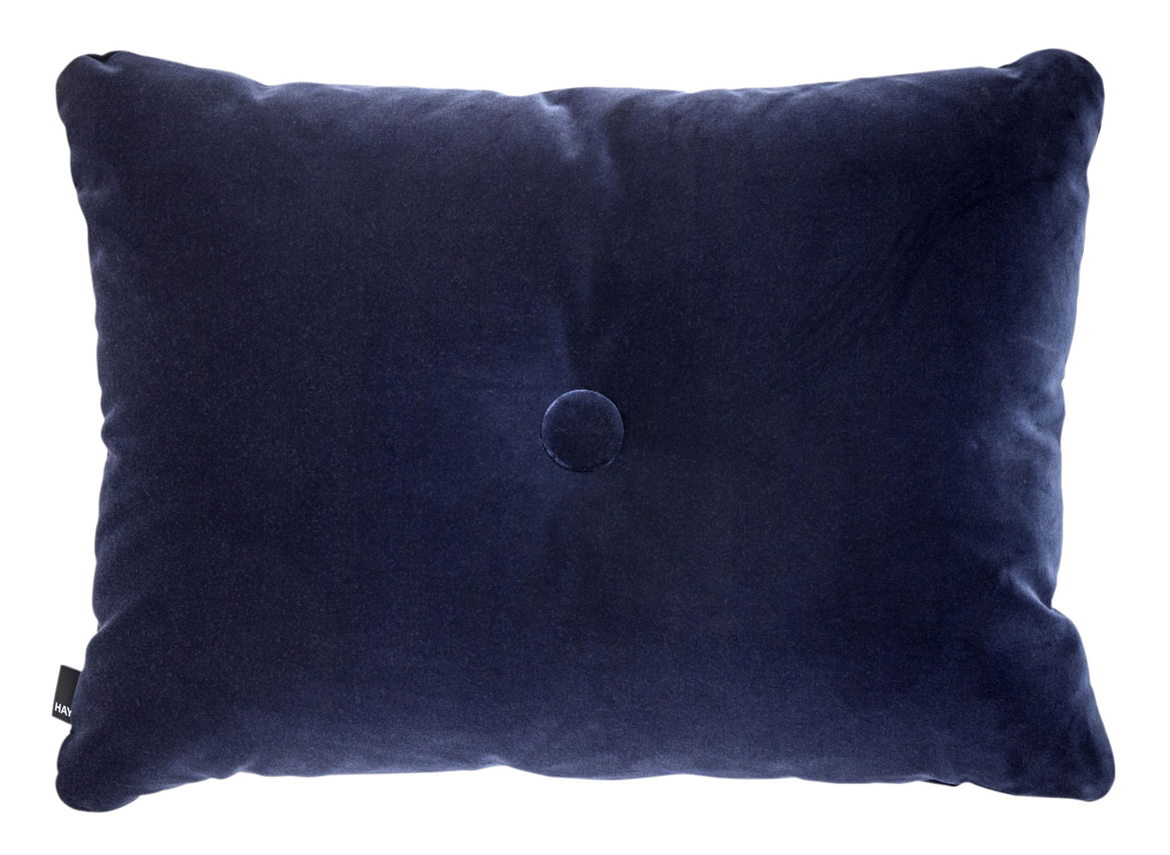Interni - Cuscini  - Cuscino Dot - Velours - / 60 x 45 cm di Hay - Blu marine - Cotone (velluto)