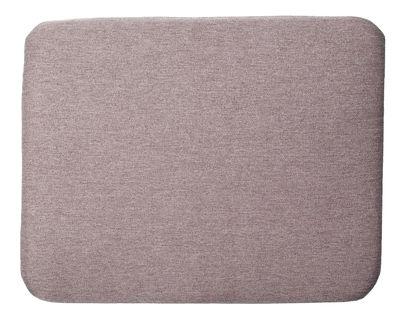 Interni - Cuscini  - Cuscino per seduta - / Per poltrona Trame di Petite Friture - Gris moyen - Tessuto