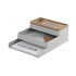 Arrange n°1 Desk organizer - / 3-piece stackable set by Muuto