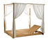 Essenza Double sun lounger - / with canopy - 170 x 215 cm by Ethimo