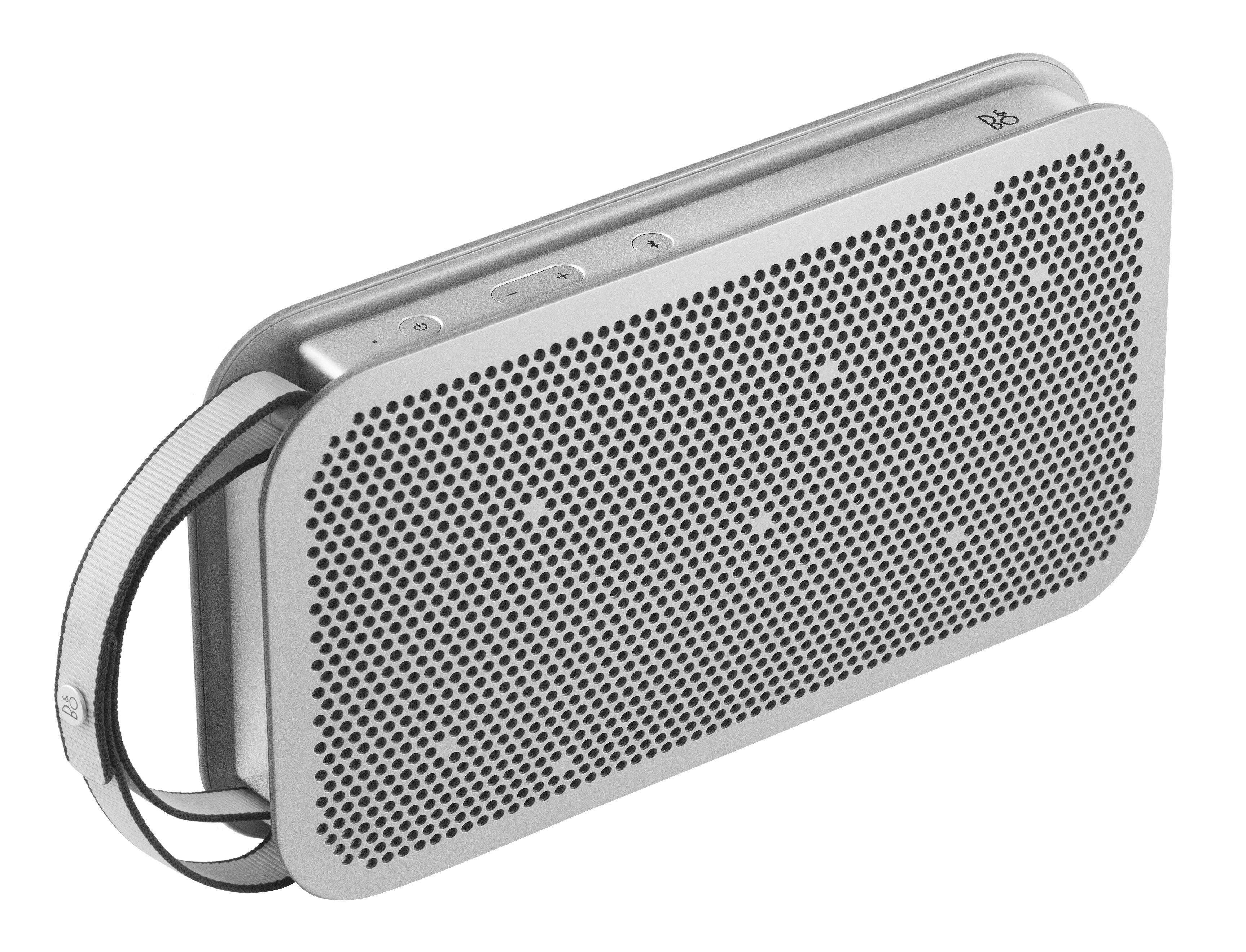 Accessoires - Enceintes audio & son - Enceinte Bluetooth BeoPlay A2 Active / Sans fil - B&O PLAY by Bang & Olufsen - Acier - Aluminium, Tissu