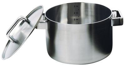 Cuisine - Casseroles, poêles, plats... - Faitout Tools / 5L - Avec couvercle - Iittala - Acier - Acier inoxydable