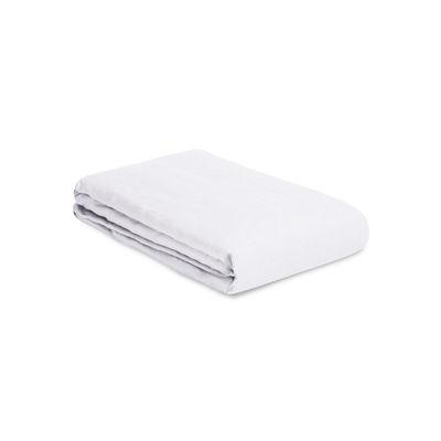 Housse de couette 140 x 200 cm / Lin lavé - Au Printemps Paris blanc en tissu
