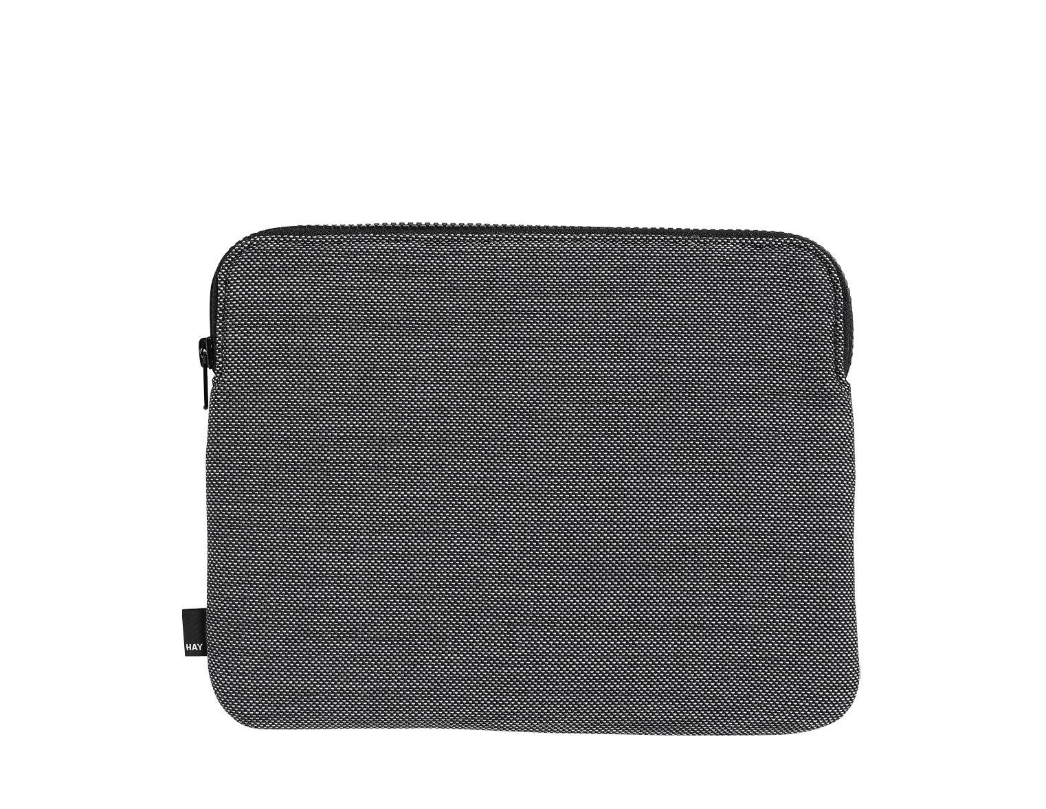 Accessoires - Réveils et radios - Housse pour tablette Henry / L 27 x H 21 cm - Hay - Gris foncé - Laine, Nylon