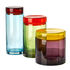 Jar - / Set of 3 - Hand-blown glass by Pols Potten