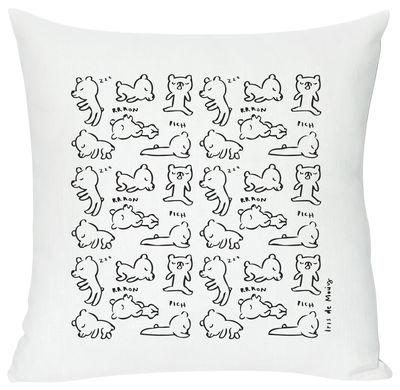 Dekoration - Für Kinder - Sleepy Kissen - Domestic - Sleepy - weiß - Baumwolle, Leinen