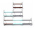 Kit - Central kit / To create a Butterfly Double shelving unit by Serax