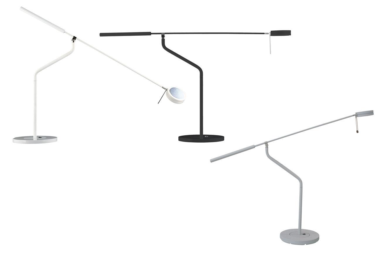Three sixty lampada da tavolo alluminio by fontana arte made in design - Lampade da tavolo fontana arte ...