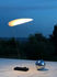 Lampada senza fili Koyoo LED - / Carta - Ricarica USB di Ingo Maurer