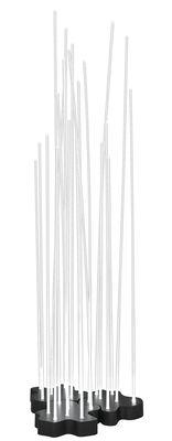 Lampadaire Reeds LED Outdoor / 21 tiges - Artemide blanc,anthracite en métal
