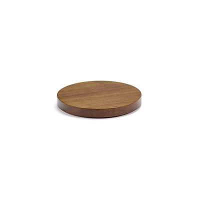 Tableware - Plates - Dishes to Dishes - Small Lid - / Ø 15 cm - Acacia by valerie objects - Small / Acacia - Acacia wood